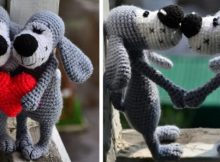 Adorable Boofle Crocheted Dog | the crochet space