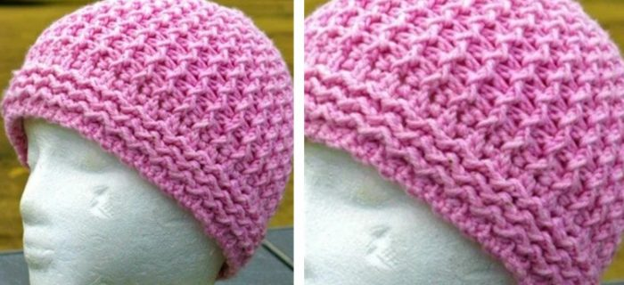 Just Groovin' Crocheted Beanie   the crochet space
