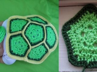 Turtle Love crocheted baby set | the crochet space