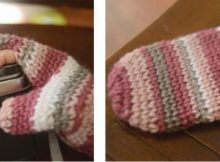crocheted photography mitten | the crochet space
