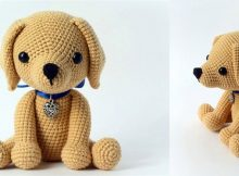 Cute Crocheted Lucky Puppy | the crochet space