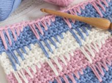 Easy Crocheted Spike Stitch | the crochet space