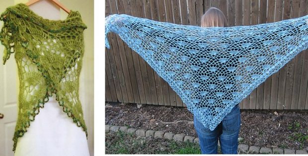 Amazing Festival Crocheted Lace Shawl | the crochet space