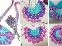 Amazing Crocheted Peacock Bag | the crochet space