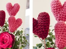 Super Cute Crocheted Little Hearts | the crochet space