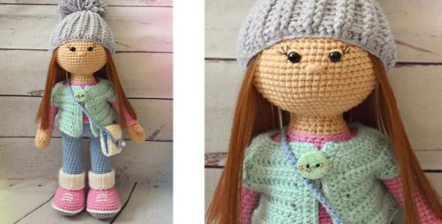 Molly Crocheted Amigurumi Doll [FREE Crochet Pattern]