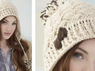 Stylish Sun Valley Crocheted Hat | the crochet space