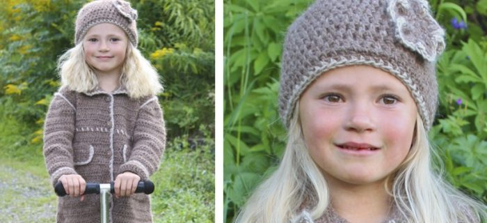 Matilda Crocheted Coat And Hat | the crochet space