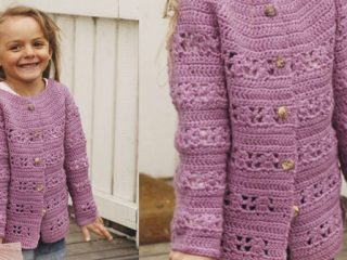 Amelie Smiles Crocheted Lace Jacket   the crochet space