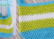 Stylish Crocheted Summer Tote | the crochet space