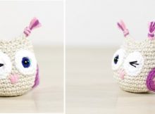 Super Cute Crocheted Small Owl | the crochet space