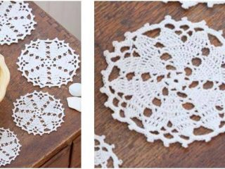 beautiful crocheted lace doily | the crochet space