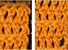 chainless starting double crochet   the crochet space