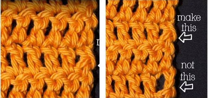 chainless starting double crochet | the crochet space