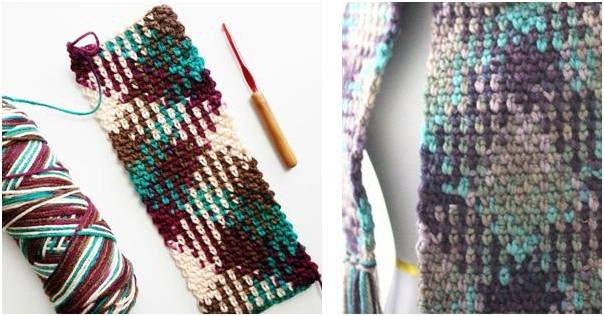 color pooling crochet patterns | the crochet space