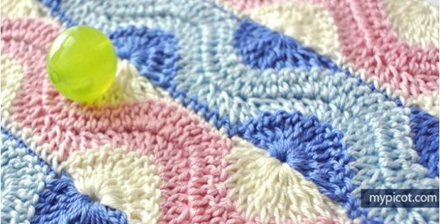 Crochet Ripple Ring Stitch Free Crochet Pattern