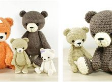 delightful crocheted bear collection | the crochet space