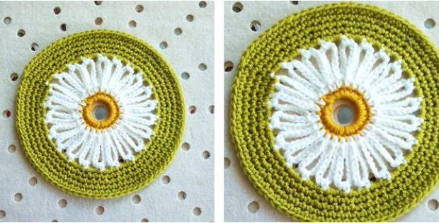 Easy Daisy Crocheted Doily Free Crochet Pattern