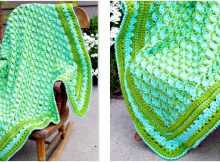 frog pond crocheted baby blanket   the crochet space