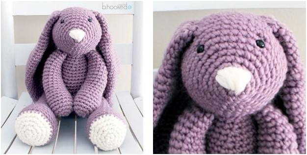 adorable Layla crocheted bunny | the crochet space