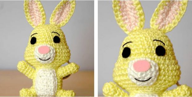 Adorable Crocheted Rabbit Free Crochet Pattern