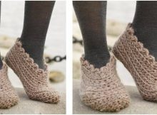shifting sand crocheted slippers | the crochet space
