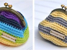 simple crocheted coin purse   the crochet space