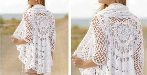 spring flair crocheted jacket | the crochet space