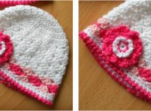 spring crocheted lacy hat   the crochet space