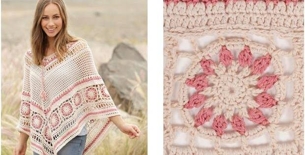 wistful dream crocheted poncho | the crochet space