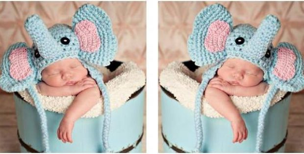 adorable baby elephant crochet hat | the crochet space