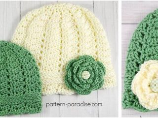 charmed crocheted cloche hats | the crochet space