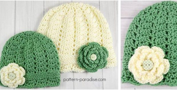 Charmed Crocheted Cloche Hats Free Crochet Pattern