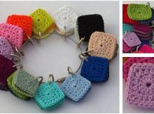 color compare crocheted squares | the crochet space