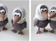 adorable crocheted curious crow | the crochet space