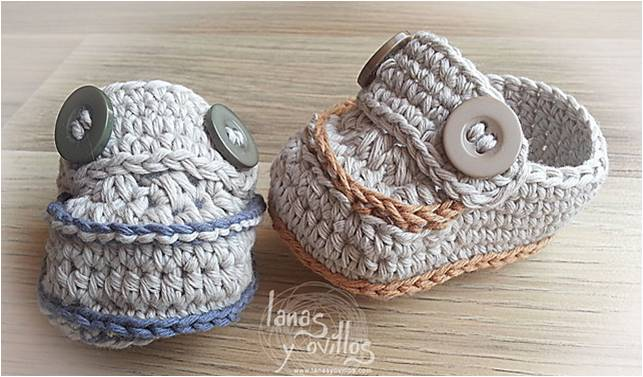 Cute Crocheted Baby Moccasins [FREE Crochet Pattern Video Tutorial] Beauteous Baby Moccasins Pattern