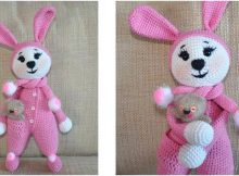 cute crocheted bunny | the crochet space