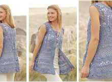 forever lace crocheted vest | the crochet space
