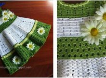 lovely crocheted toddler dress | the crochet space