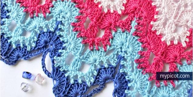 pastel lace crochet pattern | the crochet space
