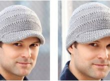 streetwise crocheted brim hat | the crochet space