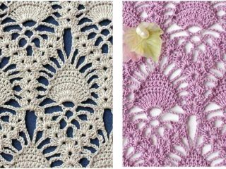 stunning crocheted lace pineapple stitch   the crochet space
