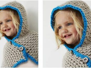 stylish crocheted hooded cowl | the crochet space