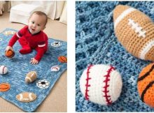 young athlete crocheted blanket | the crochet space