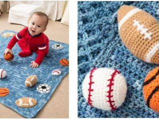 young athlete crocheted blanket   the crochet space