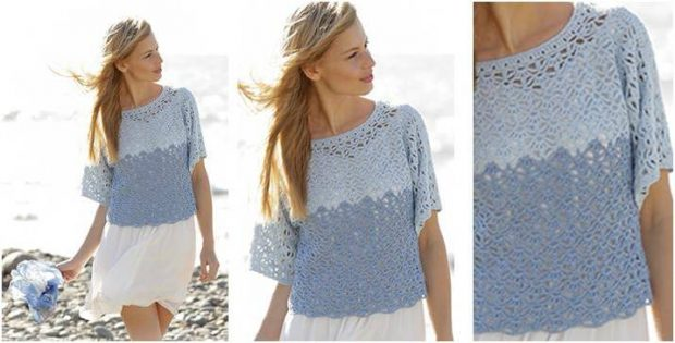 Aegean crocheted summer top | the crochet space