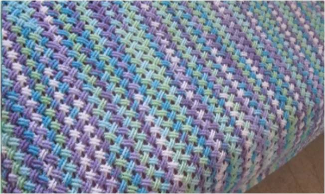 crocheted interweave cable stitch | the crochet space