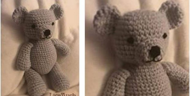 cute teddy bear crocheted toy | the crochet space