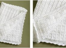 simple crocheted lace coverlet   the crochet space