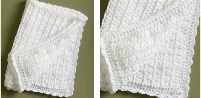 simple crocheted lace coverlet | the crochet space